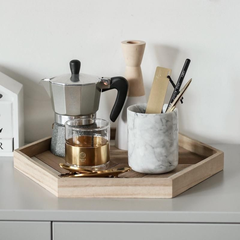 DESCRIPTION: Food Tray Tray Key Accessories Cup Holder Desk Accessoreis Material: Wood