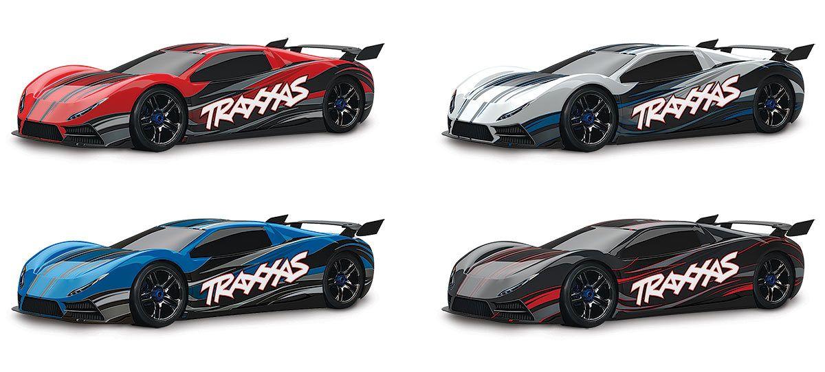 Traxxas Xo 1 Rc Car 100mph Out Of The Box Super Cars Traxxas Rc Cars