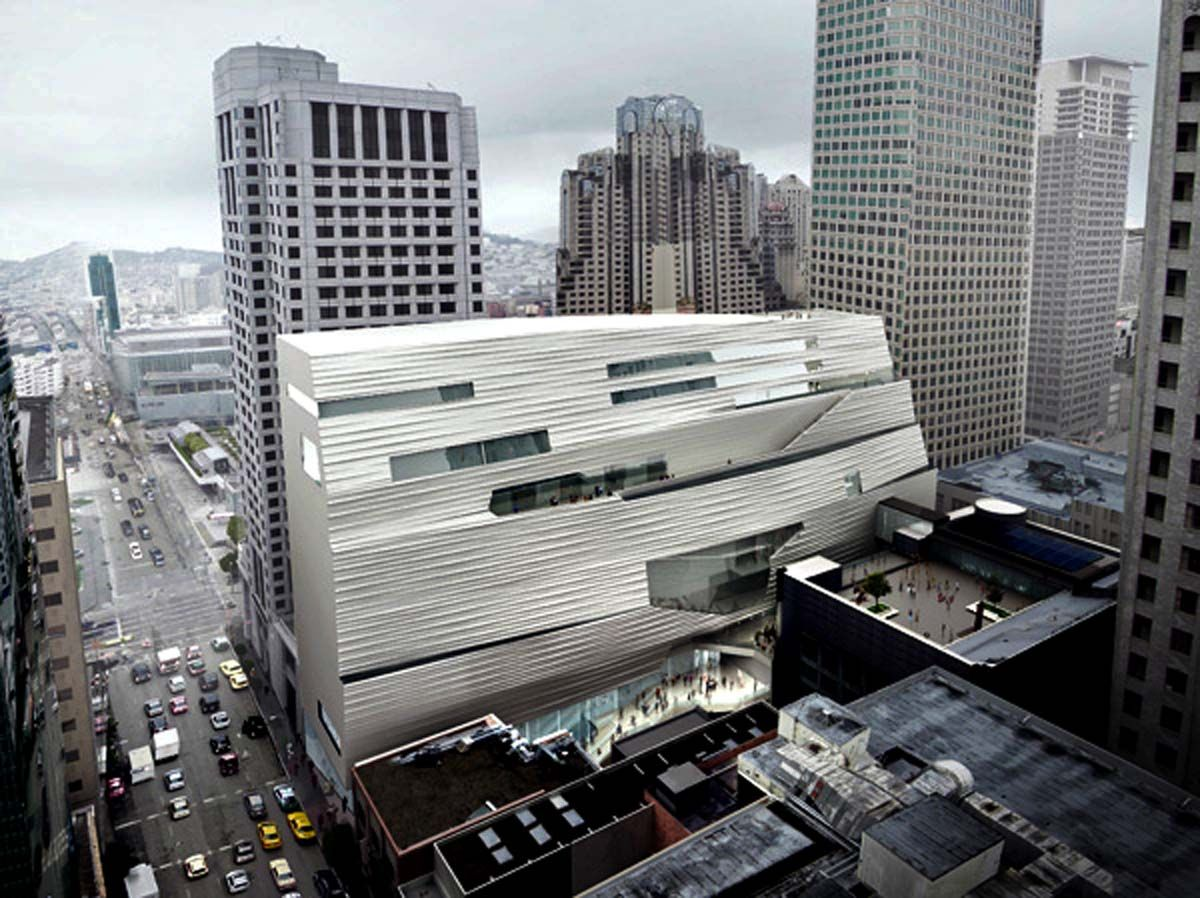 Moma Sf Museum Of Modern Art In San Francisco Expansion 2016