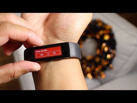 How to factory reset the Microsoft Band -    If you need to start over, switch phones, or trying to solve a problem, you'll have to factory reset the Microsoft Band. Don't worry. The process is very simple. You also won't lose the data that you've already synced to the cloud. Follow these steps to bring your Microsoft Band back to how it was out of the box.   - http://mobiapps.club/how-to-factory-reset-the-microsoft-band/