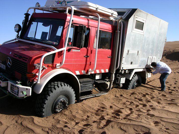 even unimogs get stuck sometimes vehicles mercedes unimog pinterest expedition vehicle. Black Bedroom Furniture Sets. Home Design Ideas