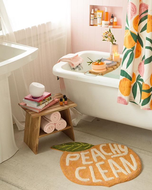 Shop The Peachy Clean Bath Mat, SKU #45078631. #