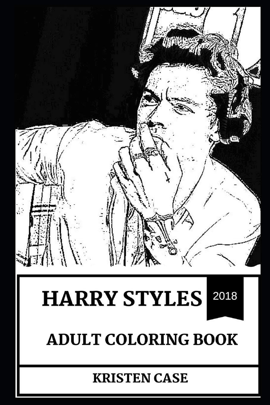 Adult Coloring Books for Men Best Of Harry Styles Adult