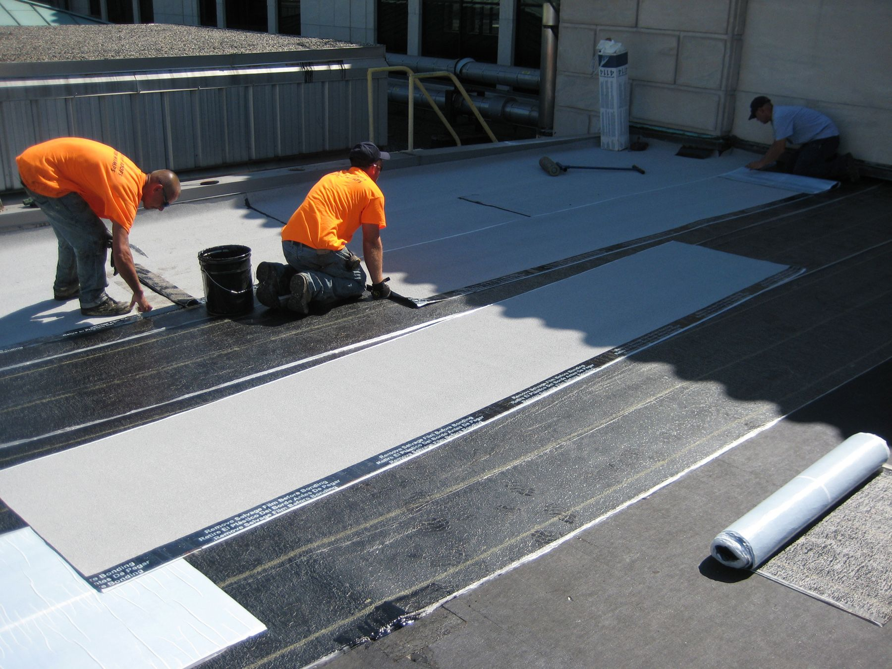 Built Up Roofing System Roofing Systems Flat Roof Repair Modified Bitumen Roofing