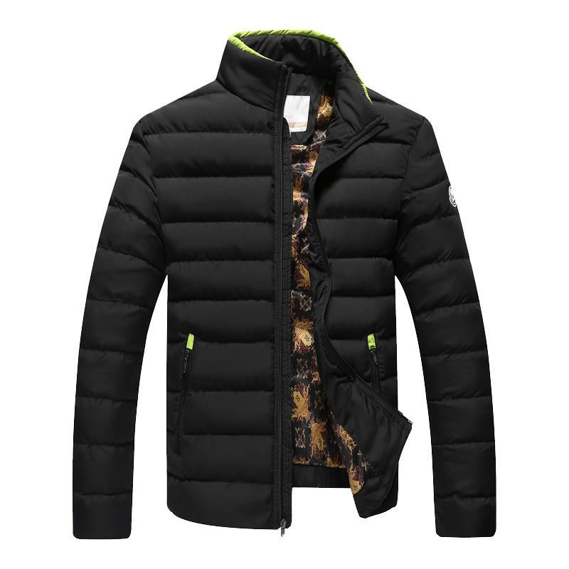 Thick Quilted Parka Jackets Coat