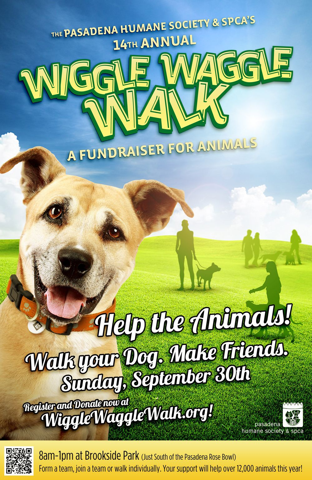 The 14th Annual Wiggle Waggle Walk A Fundraiser for