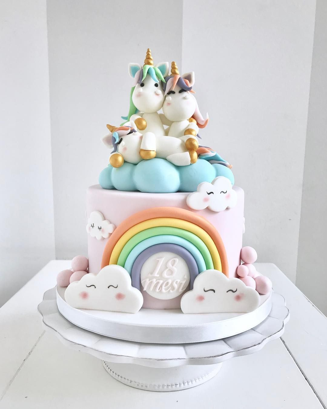 Flavorsome Desserts On Instagram Cake For 18 Months Old Angelica