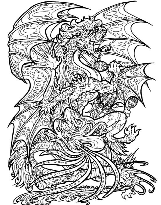 Make adult coloring page drawings and patterns for u | Adult ...