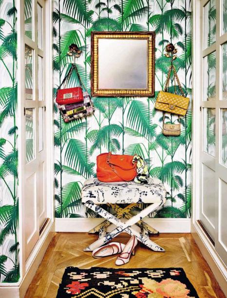 Papier Peint Palm Jungle De Cole And Son Wallpaper Decoração