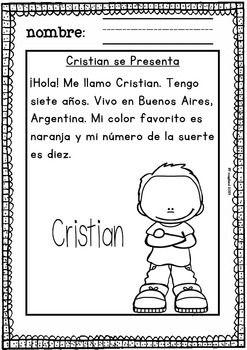 SPANISH READING COMPREHENSION (FREE) NIVEL BáSICO ...
