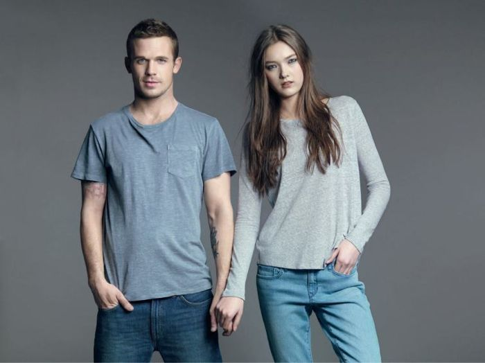 70cb9846471 Cam Gigandet + Hao Yun Xiang for GAP Lived-in Campaign