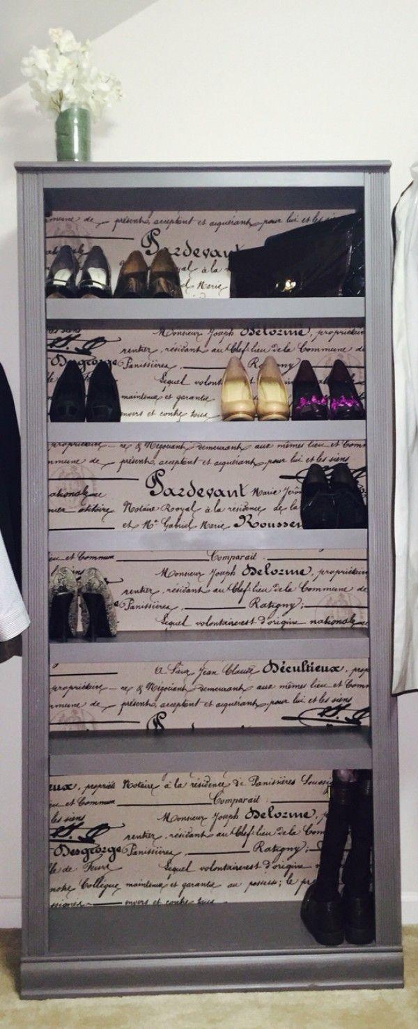8.Classy Shoe Shelf