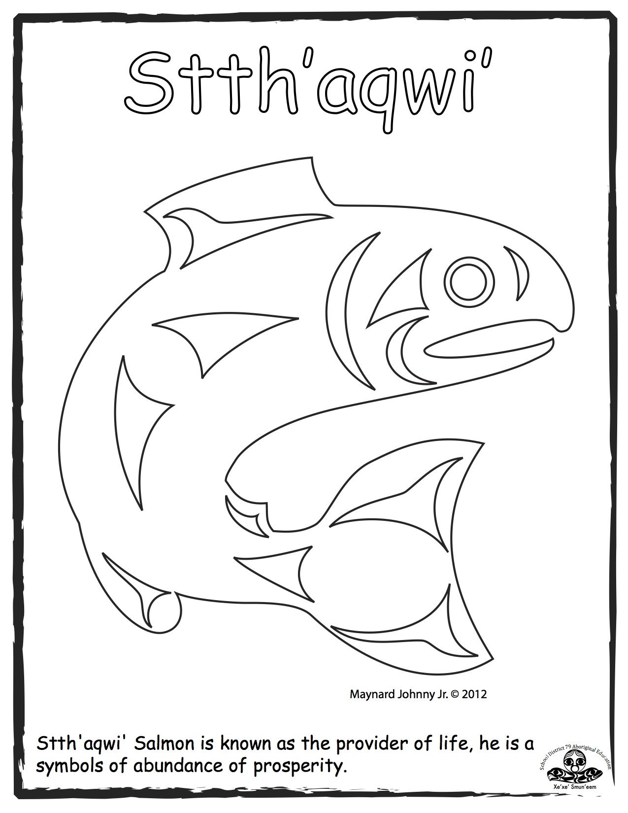 Haida Art-Cordillera-Social Studies-Art line extension