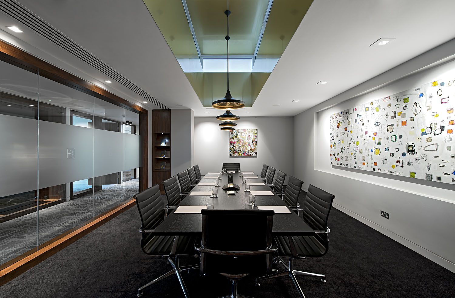Interior Office Conference Room