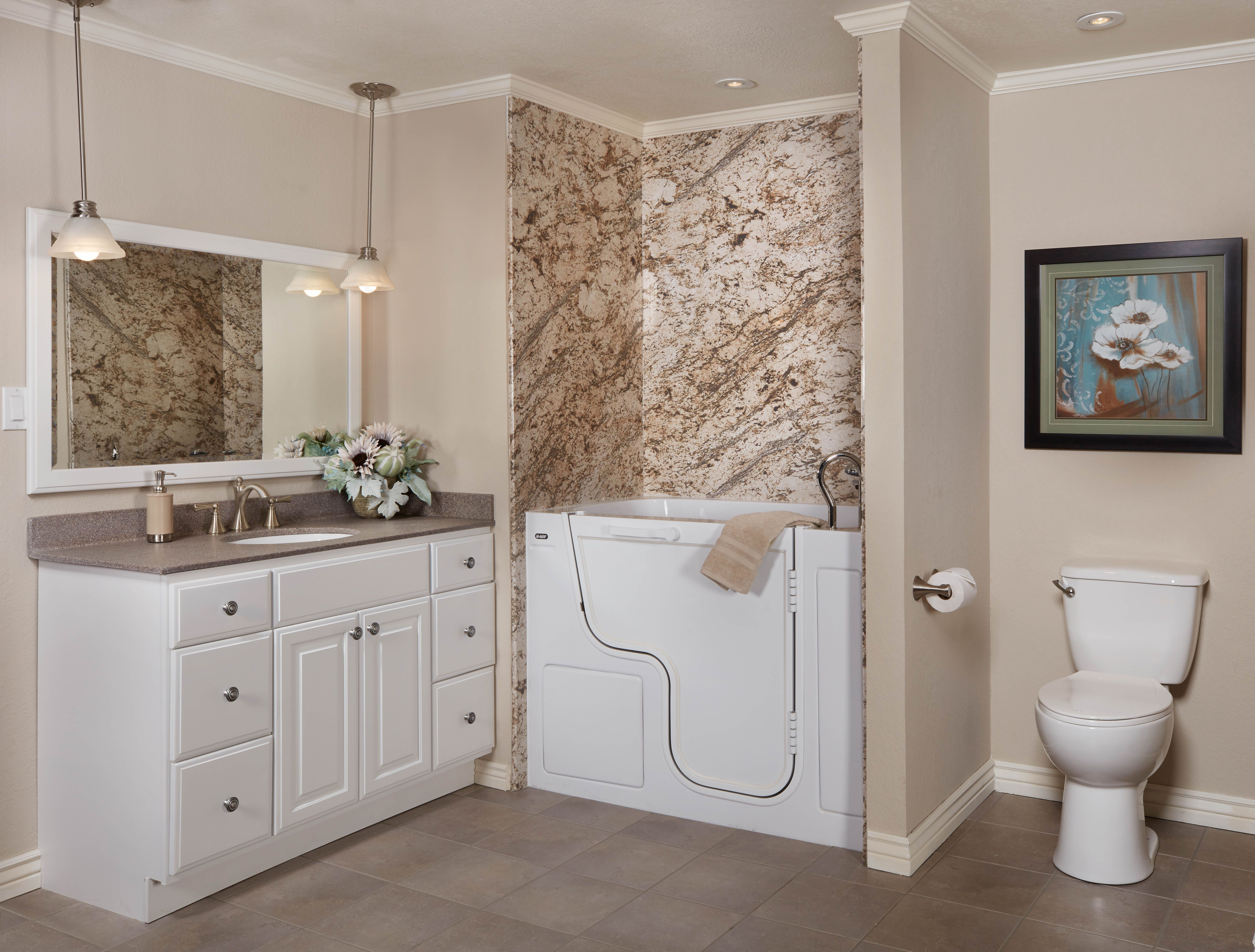 Soaker Tub Shower Combo Remodel