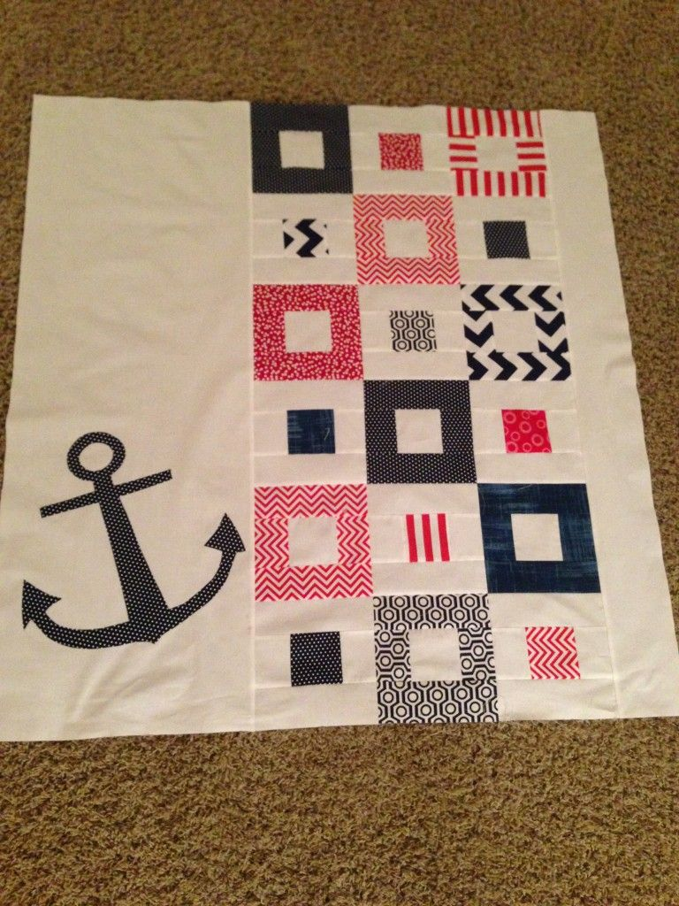 Nautical Quilt Tutorial | quilting | Pinterest | Quilt tutorials ... : nautical themed quilt patterns - Adamdwight.com