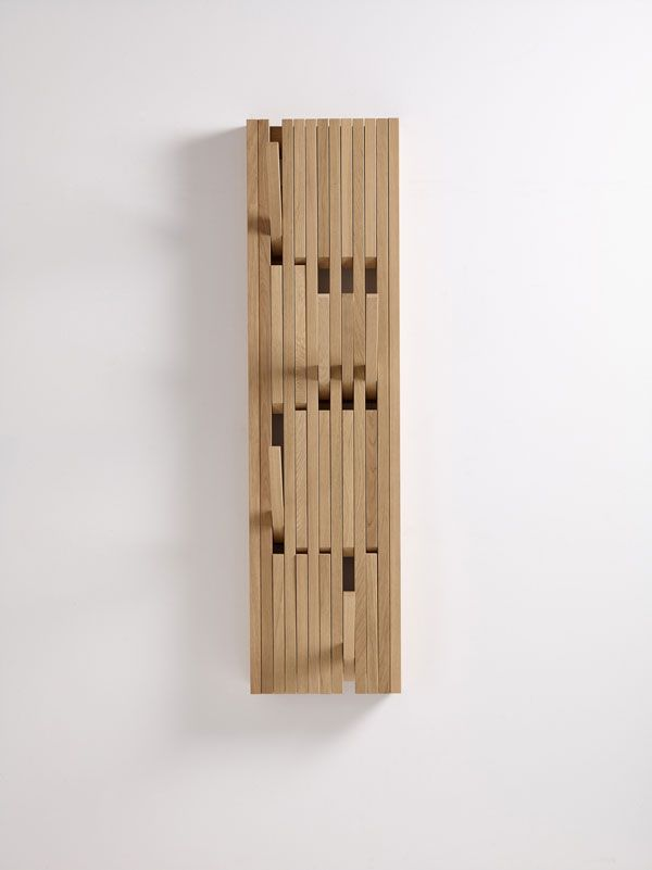 Piano By Patrick Seha For Per Use Wall Mounted Coat Rack Wooden
