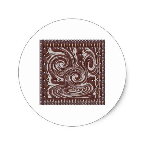 Chocolate Monster Template Resellers Welcome Gifts Classic Round