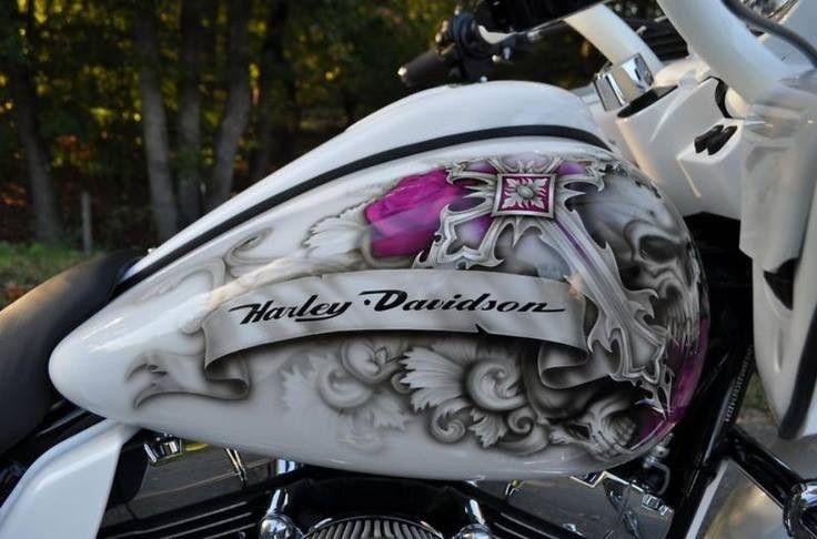 ❤️ this paint job | Harley-Davidson/Biker Life Style