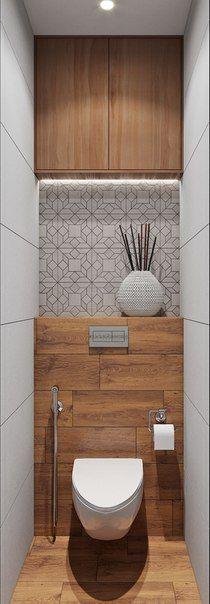 Deco WC visiteurs | Idées Aménagement | Pinterest | Toilet, Big ...