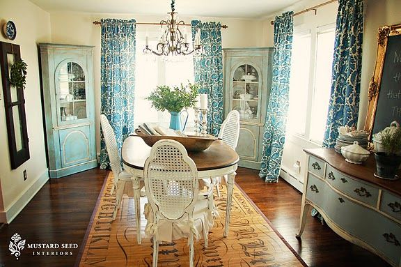 Gorgeous Dining Room By Miss Mustard Seed