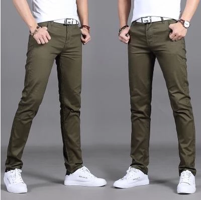 2018 New Men Pants Fashion Casual Pants Men New Design