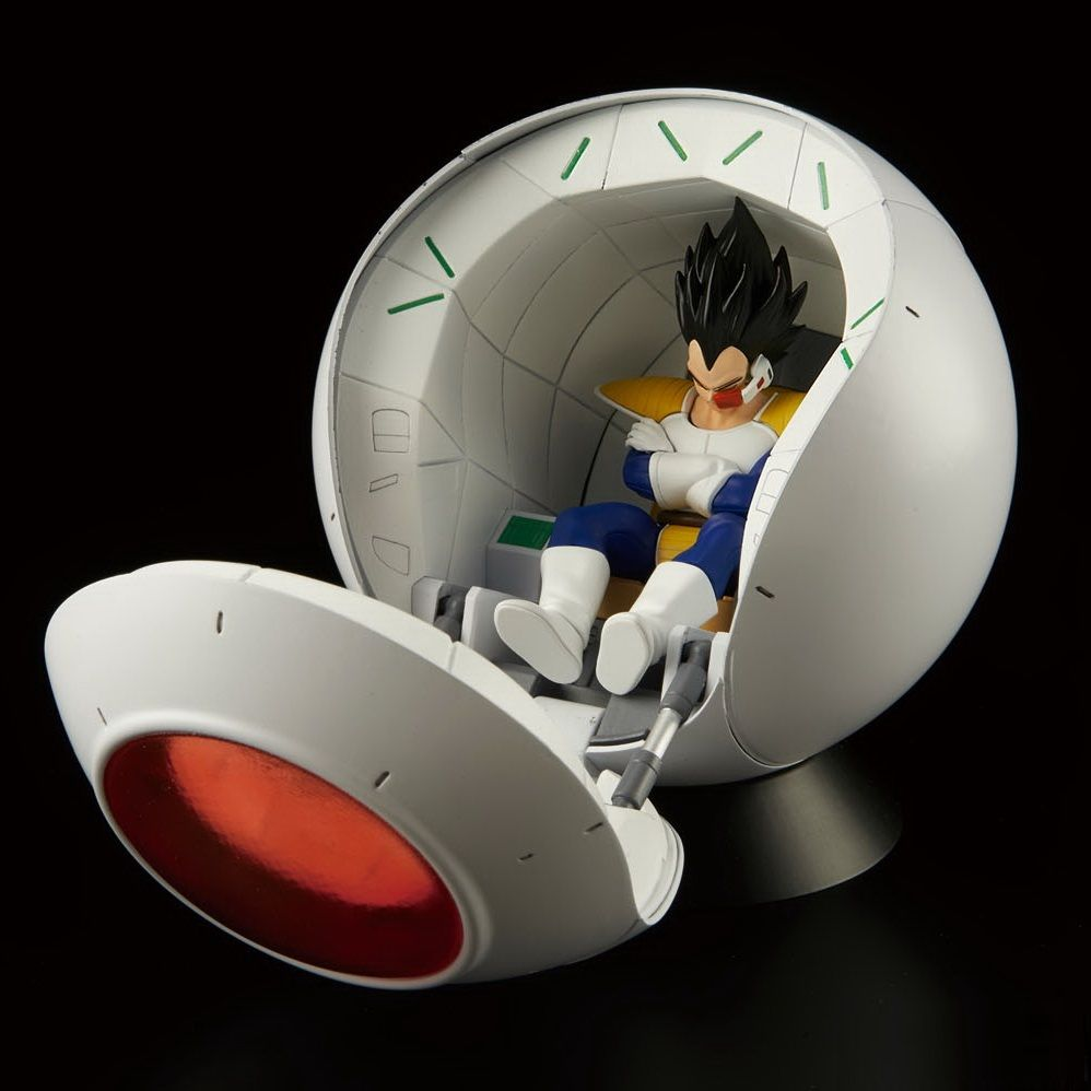 figure rise Dragon Ball Saiyan spaceship pod  plastic model Plastic kit