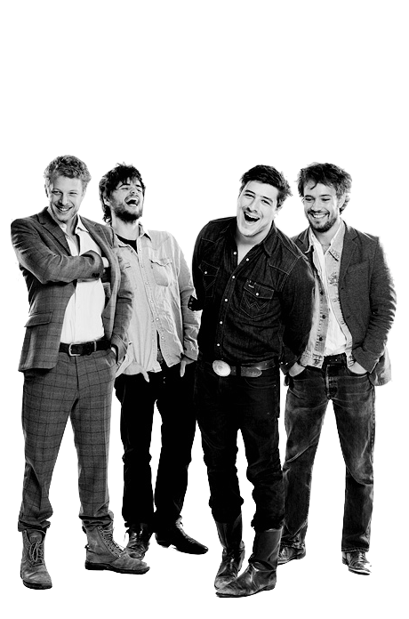 Mumford & Sons... My all time fav band!!<3