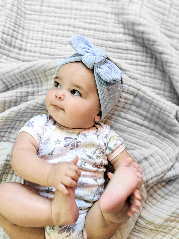 newborn headband Baby headband Knotted headband