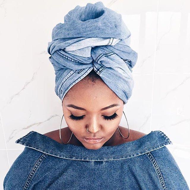 Solid.| @yoliswa_xo head scarf