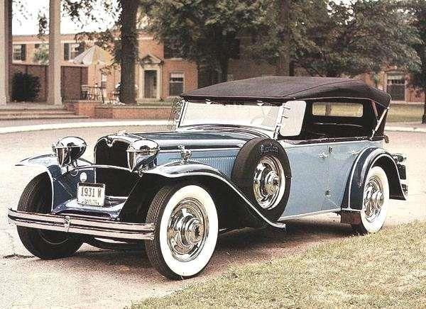 1931 Ruxton Phaeton – (New Era Motor Car Co, New York, New York, 1921-1931)