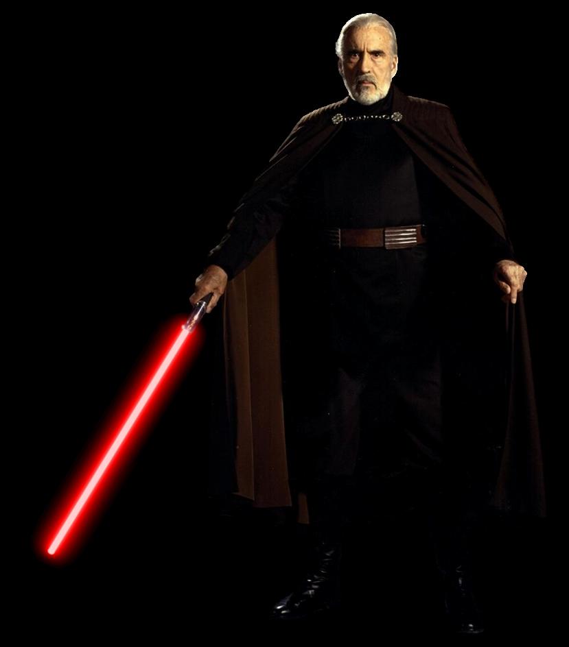 Darth Tyrannus Count Dooku Transparent By Camo Flauge On Deviantart Count Dooku Star Wars Characters Star Wars