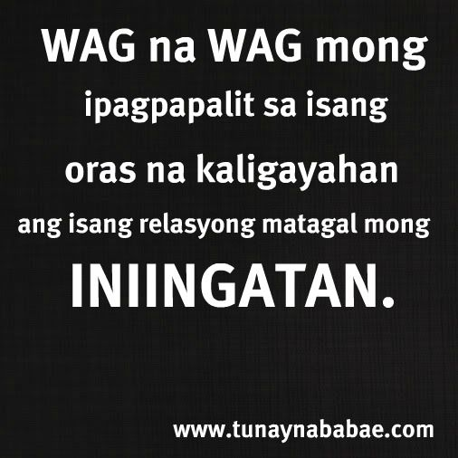 Quotes About Sorry Tagalog: Tagalog Quotes, Sugar