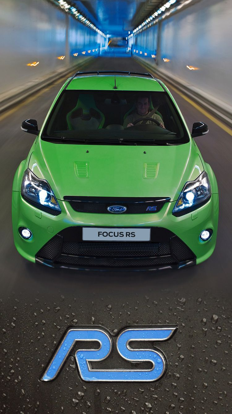 The Classic Iconic And Eye Catching Ford Focus Rs Mk 2 Universal Phone Wallpapers Backgrounds Focus Rs Sports Car Ford Focus Ford Focus St Ford Focus St Mk2