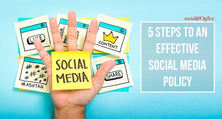 p\u003eEstablishing a clear social media policy is important for