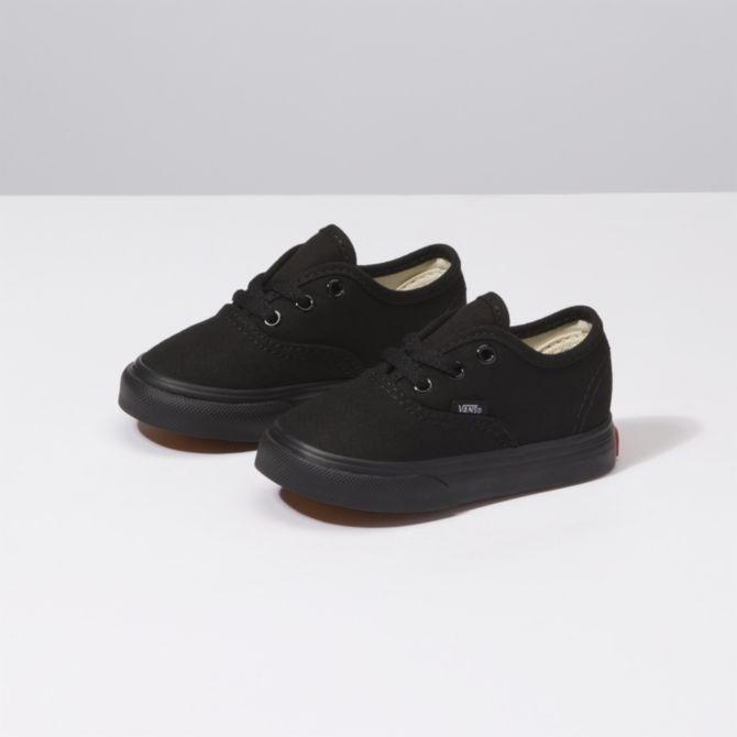 a50dcc8001 New Vans Toddler True Solid Black Authentic Canvas Sneaker Shoes Sizes 5 -  10  VANS  CasualShoes