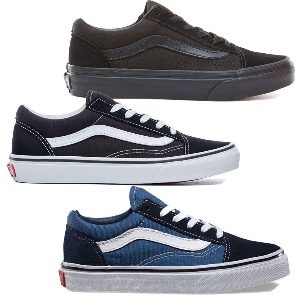 0cdb35c816 eBay  Sponsored Vans K Old Skool Kids Sneakers Shoes Sneakers Low Shoes  Lace Up
