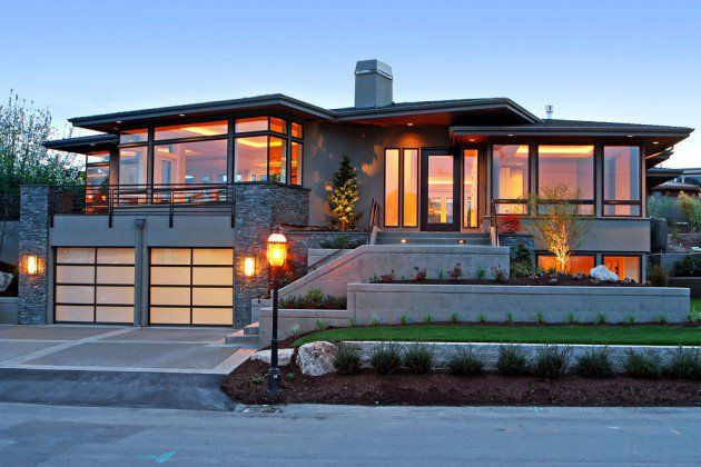 15 Eye Catching Contemporary Residence Designs House Designs Exterior Exterior Remodel Contemporary House Exterior