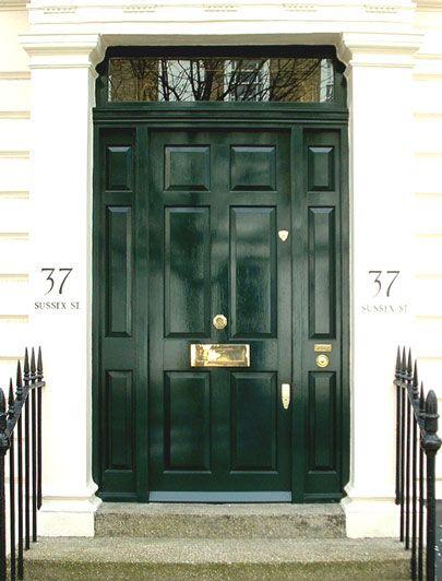 Statement green Regency front door. londondoor.co.uk & Statement green Regency front door. londondoor.co.uk | Kap?lar ...