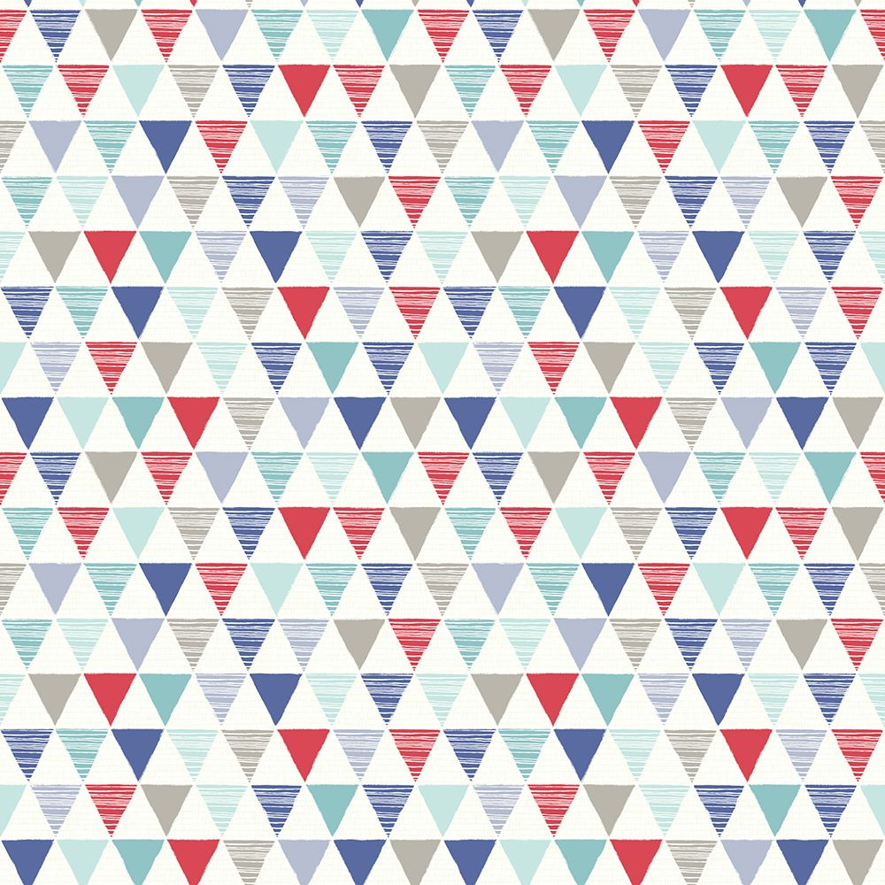 Jester by Arthouse Red and Blue Wallpaper 696007