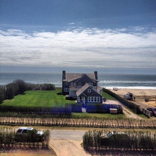 Life on Dune Road in The Hamptons offers the splendor of oceanside living... but beware the Nor'Easter!