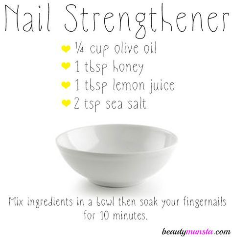 DIY Nail Strengthener for Strong, Healthy & Shiny Nails | Nail hacks