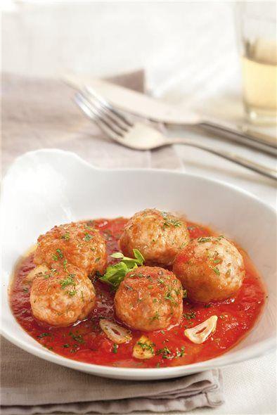 Albondigas De Pavo Con Salsa De Tomate Albondigas De Pavo Recetas Saludables Recetas Con Pavo