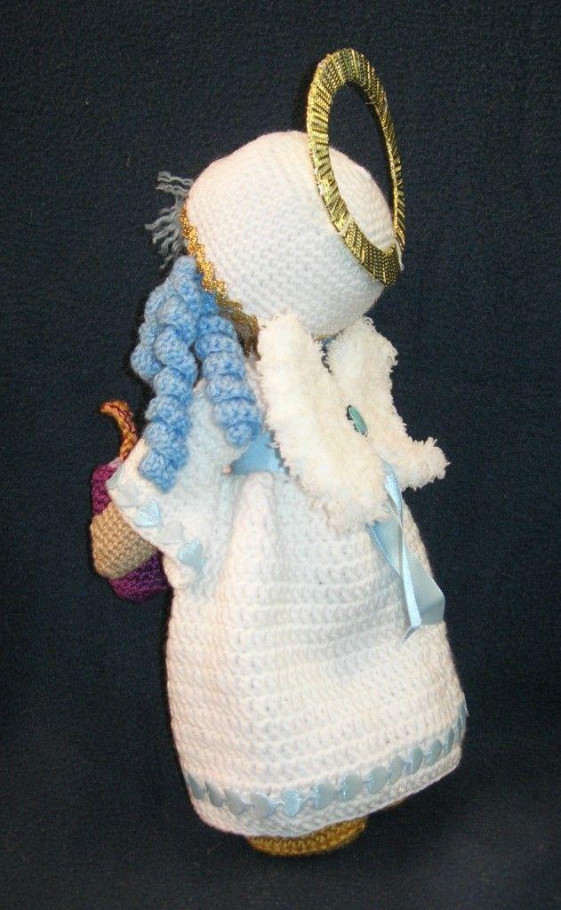 Angel de la vela. Patrón Gratis | amigurumi navidad | Pinterest ...