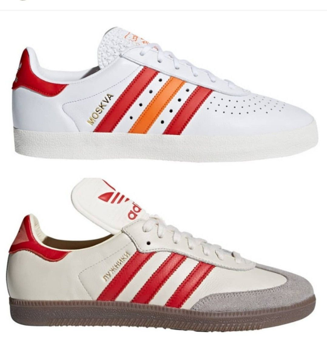 dd27b11df Adidas 350 Moskva and Samba Luzhniki due to be released soon as part of  adidas  World Cup campaign.