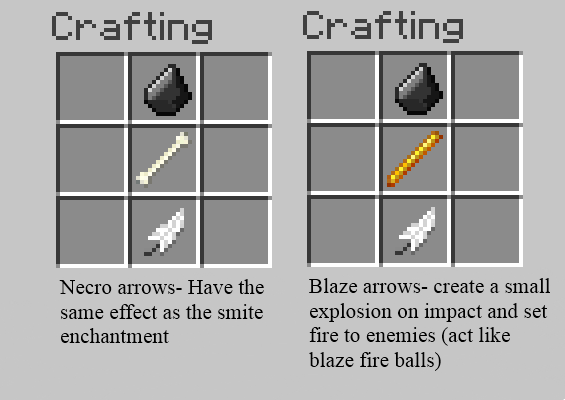 Different Kinds Of Arrows Would Be Awesome Crafts Necro Enemy