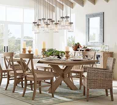 Toscana Extending Dining Table 60 X 38 Tuscan Chestnut Stain
