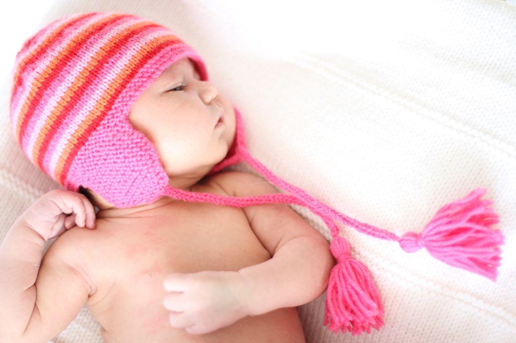 ear flap baby hat