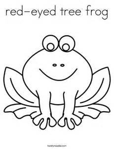Red Eyed Tree Frog Coloring Page Yahoo Image Search Results