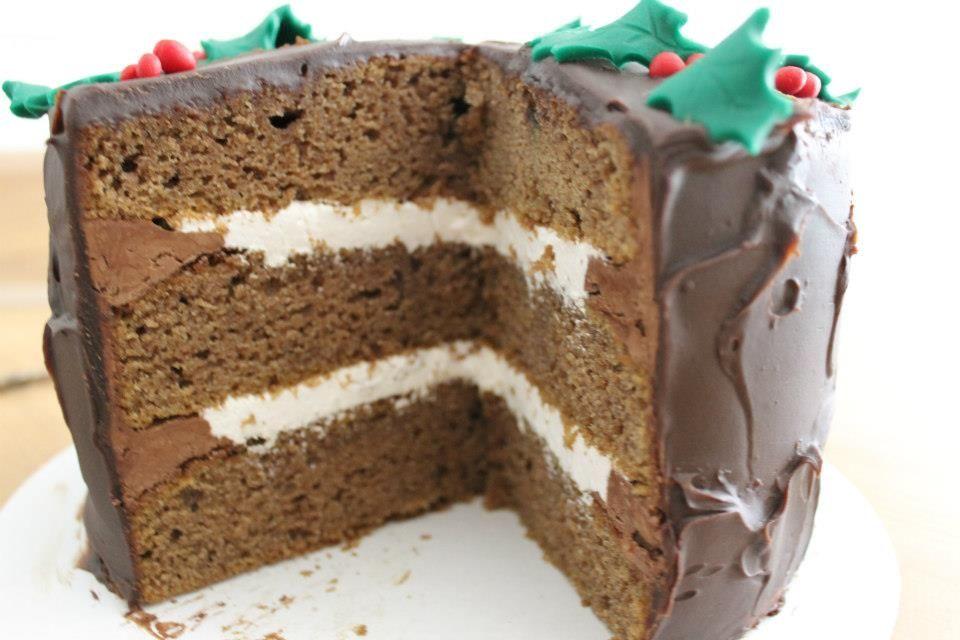Layer cake de calabaza